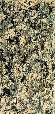Jackson Pollock: Cathedral ( art modern abstract expressionism )