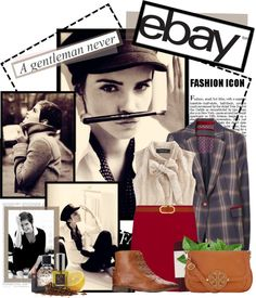 """""""Rock Menswear Like a Lady with eBay"""" by edenslove on Polyvore"""