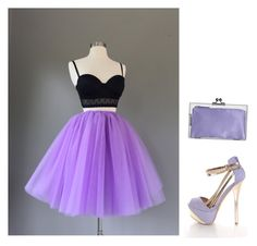 """Lavender night"" by iyana-juliet ❤ liked on Polyvore featuring Qupid and In Awe of You"