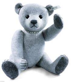 15f18edd1a4ad Steiff 2601  Steiff 2012 Selection Felt Light Grey Teddy Bear Seaside Ean  035418 - gt