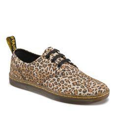 Another great find on #zulily! Tan Leopard Aldgate Shoe #zulilyfinds