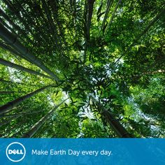 "Happy Earth Day! Today at Dell we reflect on our own impact on the planet and commitment to a ""Legacy of Good"".  For more on our 2020 Legacy of Good plan, please see http://dell.to/QuFaZ8  #EarthDay #environment #corporatesocialresponsibility"