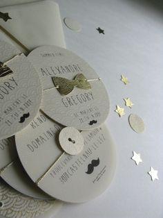 faire-part mariage gay rétro chic papier japonais sur mesure raffiné fait main haut de gamme cadeau invité