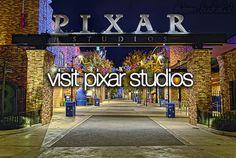 Visit pixar studios - bucket list