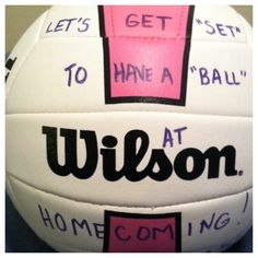 You know your a volleyball player when... That'd work for me:)