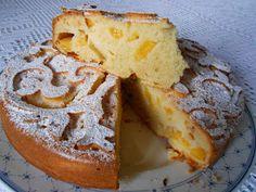 La cucina di ❀ Paola Brunetti ❀: Fantastica torta con pesche fresche