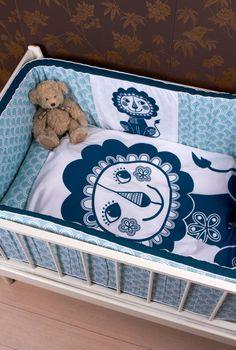 Roommate Bettwäsche in blautausendkind. Roommate, Toddler Bed, Baby, Interior, Furniture, Home Decor, Child Bed, Decoration Home, Indoor