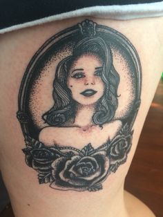My Lana Del Rey portrait by Kris Busching at Skin Deep ...