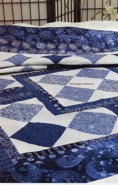Zen Garden Quilt Pattern Pieced TL