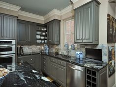 kitchen cabinet with grey painted kitchen cabinets for l shape kitchen on  furniturecabinets
