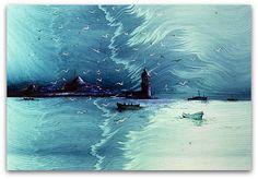 HİKMET BARUTÇU BARUT EBRUSU Times New Roman, Marble Painting, Marble Art, Ebru Art, Turkish Art, Eminem, Islamic Art, Istanbul, Oriental