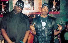 Diggin' In Da Den: Tupac and Biggie Freestyle