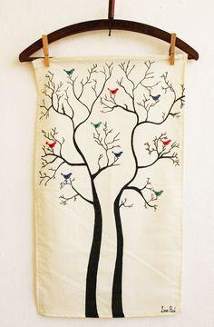 Lana Red Studio: Tea Towel DIY