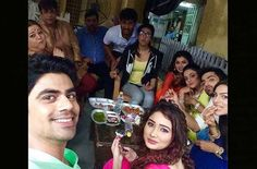 Bhajiya party on the sets of Kumkum Bhagya : Tv Talks