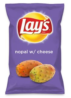 Wouldn't nopal w/ cheese be yummy as a chip? Lay's Do Us A Flavor is back, and the search is on for the yummiest flavor idea. Create a flavor, choose a chip and you could win $1 million! https://www.dousaflavor.com See Rules.