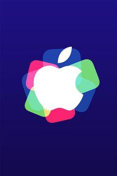 Colorful Apple Wallpaper. #apple #logo #iphone #wallpaper
