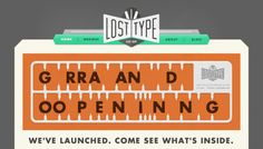 Loving this contemporary retro design trend for print and the web.