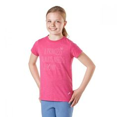 View our Harry Hall Princess Junior T shirt Pink from our curated girls tops collection, designed with both effortless style and maximum comfort in mind! T Shirts For Women, Princess, Pink, Collection, Tops, Design, Style, Fashion, Moda