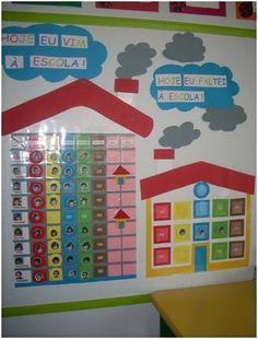Preschool Attendance Chart, Diy And Crafts, Boards, Frame, Handmade, Home Decor, Children, Attendance Board, School Today