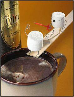 Hot cocoa ~ Food & Humor : D