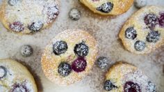 Almond, coconut, berry friands - These gluten- and refined-sugar-free little treats won't weigh you down, says Nadia Lim.