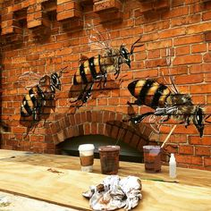 The Good of the Hive: Artist Matthew Willey Travels the World to Paint 50,000 Bees | Colossal
