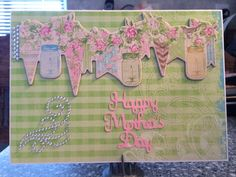 Mother's Day card using Bo Bunny Prairie Chic