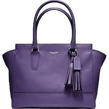 Coach Legacy Medicum Candace Carryall in Leather