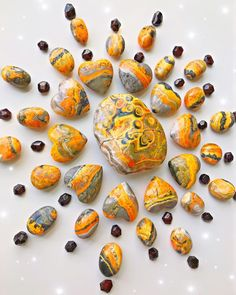 Bumblebee Jasper Carved Heart — Rocks with Sass Crystals And Gemstones, Stones And Crystals, Crystal Mandala, Steampunk Heart, Success Story, Crystal Meanings, Jasper Stone, Agate Stone, Dark Colors