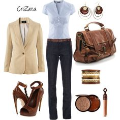 """""""Bank Manager"""" by crizeta77 on Polyvore"""