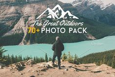 The Great Outdoors Photo Pack by ZedProMedia on @creativemarket