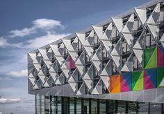 Das Prinzip Dreieck Campus-Neubau von Henning Larsen in Dänemark