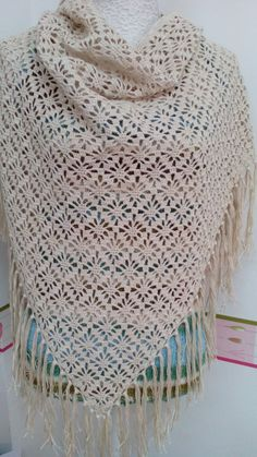 Sia Scarf Free Crochet Pattern - Life and Yarn Crochet Coat, Crochet Cardigan, Crochet Clothes, Hand Crochet, Crochet Stitches, Free Crochet, Crochet Shawls And Wraps, Knitted Shawls, Shawl Patterns