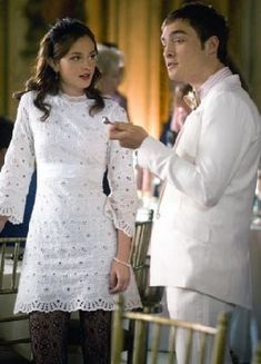 In love with Blair's dress here!
