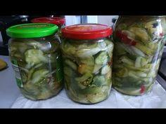 CIOLOMADA-Reteta bunicii de muratura asortata,simpla si rapida - YouTube Fresh Rolls, Pickles, Cucumber, Mason Jars, Cooking, Ethnic Recipes, Food, Youtube, Canning