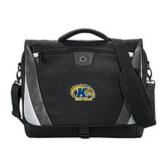 Kent State Slope Compu Black/Grey Messenger Bag 'Kent State Flash w/K and Flash' ** Check this awesome product by going to the link at the image.
