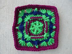 Ravelry: Project Gallery for Square 13 pattern by Jean Leinhauser