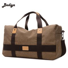 Large Space Mens Travel Bags Canvas Patchwork Men Bags European Style Travel Duffle Bags