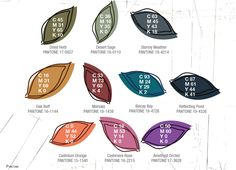 Pantone's 2015 Fall Color Report, leather bracelet here.