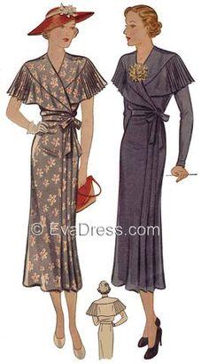 1936 Dress D30-2079
