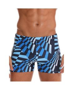 Light Grey Antique Pattern Geometry Curves Minimalistic Design Casual Swim Trunks All