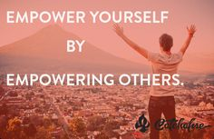 Empower yourself by empowering others. #Socialgood at its most genuine @catchafire #SGSGlobal