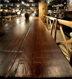 Visit www.lakeandmountainhome.com if you'd like your own custom harvest table quoted out for you, or call us at 978-505-3222. We'd love to hear from you! #reclaimedwood #harvesttable