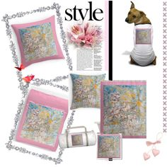 Stunning Home Decor - New! Exquisite Home Decor For the Bedroom by Designer Marie-Jose Pappas of Innocent Originals. #home #decor #decorating #bedding #style #fashion