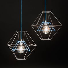 Pixi by FishDesignMarket is a metal pendant covered with coloured ribbon.