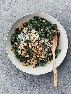 Caesar-Style Kale &