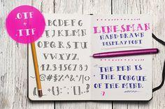 Linesman Font - Display