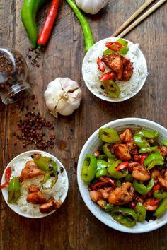 SICHUAN THREE PEPPER CHICKEN, Yum! by The Woks of Life