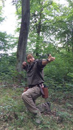 Slingshot for hunting
