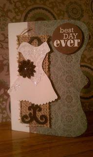 Bridal Shower Card by Trisha Morton